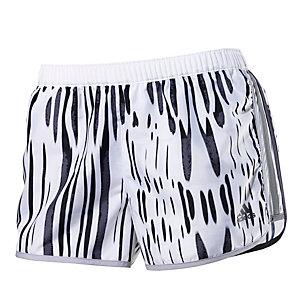 adidas Laufshorts Damen weiß/schwarz