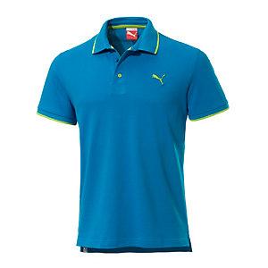 PUMA Sports Casual Poloshirt Herren türkis