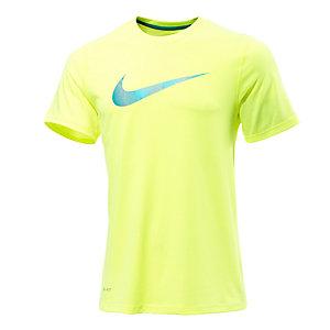 Nike Legend Swoosh Lines Funktionsshirt Herren limette