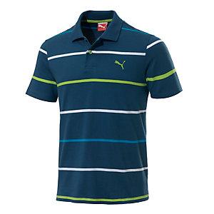 PUMA Casual Striped Poloshirt Herren petrol