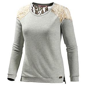 Fornarina Celeste Sweatshirt Damen graumelange