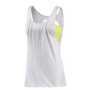 Neighborhood 2-in-1 Top Damen weiß/limette