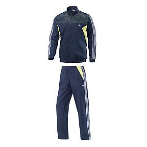 adidas Trainingsanzug Herren dunkelblau/limette