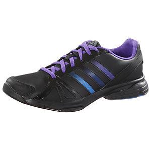 adidas Fitnessschuhe Damen schwarz/lila