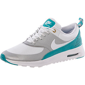 nike air max thea sneaker damen wei petrol im online shop. Black Bedroom Furniture Sets. Home Design Ideas
