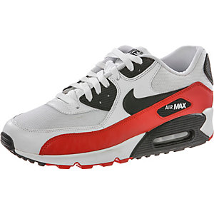 Nike Air Max 90 Essential Weiß Rot