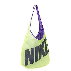 Nike Sporttasche Damen neongelb/lila