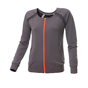 unifit Sweatjacke Damen anthrazit