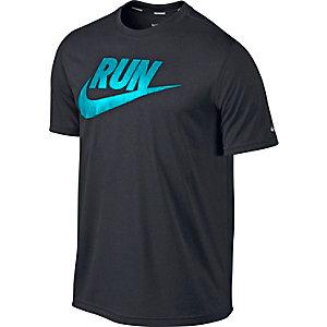 Nike Laufshirt Herren schwarz