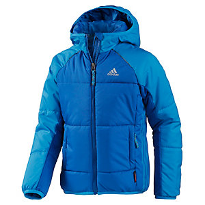 adidas Outdoorjacke Jungen blau/hellblau
