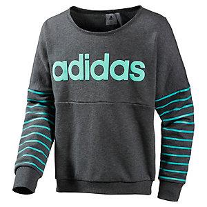 adidas Sweatshirt Mädchen grau/mint