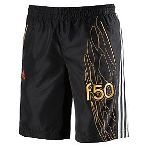 adidas Shorts Jungen schwarz/gelb