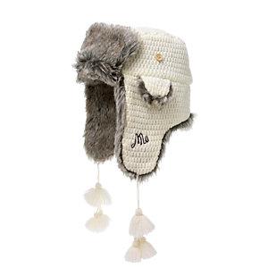 Maui Wowie Fur Hat Fellmütze Damen creme