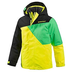 ziener akido skijacke jungen schwarz gr n gelb im online shop von sportscheck kaufen. Black Bedroom Furniture Sets. Home Design Ideas