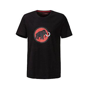 Mammut Logo Printshirt Herren schwarz