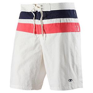 TOM TAILOR Boardshorts Herren weiß/blau/rot