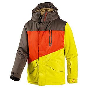 Billabong Snowboardjacke Jungen gelb/orange/khaki