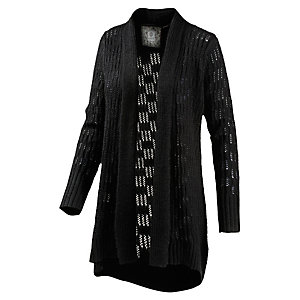 Element Sanfran Strickjacke Damen schwarz