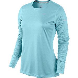 Nike Laufshirt Damen hellblau