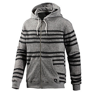 Quiksilver Major Stripes Sweatjacke Herren graumelange