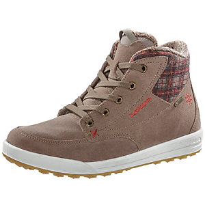 Lowa Mosca GTX QC Sneaker Damen hellbraun/rot