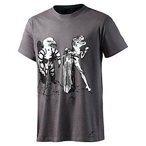 Maui Wowie Printshirt Herren anthrazit