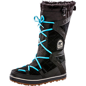 Sorel Glacy Explorer Stiefel Damen schwarz