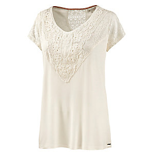 Element Colette T-Shirt Damen offwhite