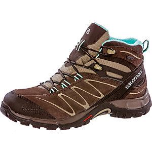 Salomon ELLIPSE MID LTR GTX GORE-TEX® Hikingschuh für Damen braun/mint