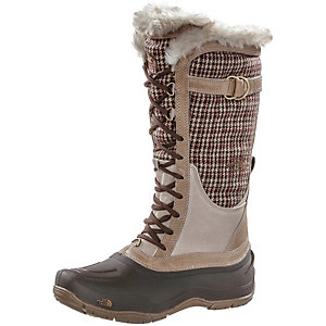 The North Face Shellista Lace Winterschuhe Damen braun