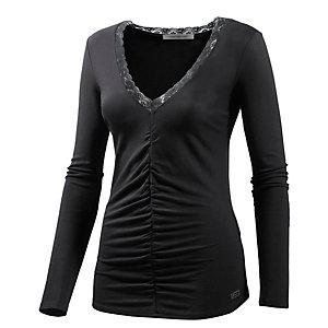Fornarina Valentine Langarmshirt Damen schwarz