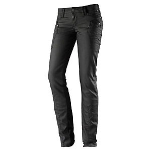 TIMEZONE Murray Skinny Fit Jeans Damen schwarz