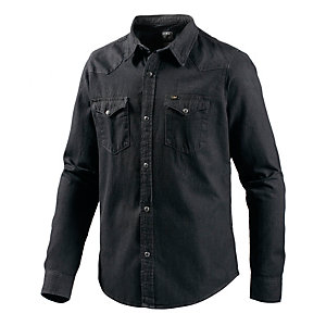 Lee Langarmhemd Herren black denim