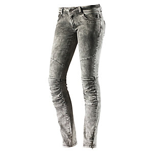 Neighborhood Skinny Fit Jeans Damen grau