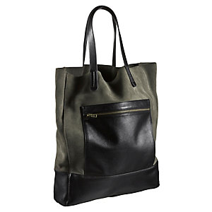Lee Shopper Damen oliv/schwarz