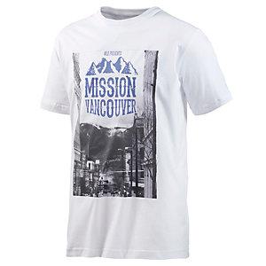 WLD Mission Vancouver T-Shirt Herren weiß