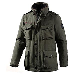 Strellson Sportswear Swiss Cross Jacke Herren in oliv, Größe 52