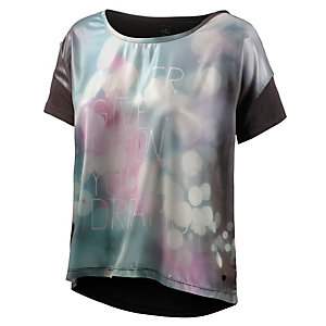 REPLAY T-Shirt Damen schwarz/bunt