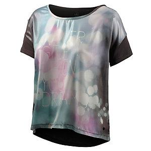 REPLAY T-Shirt Damen schwarz/bunt