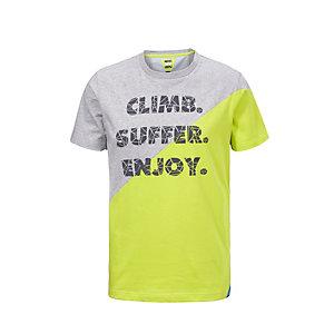 Rocxygen Printshirt Herren hellgrau