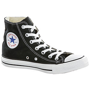 converse chuck taylor all star hi sneaker damen schwarz im. Black Bedroom Furniture Sets. Home Design Ideas