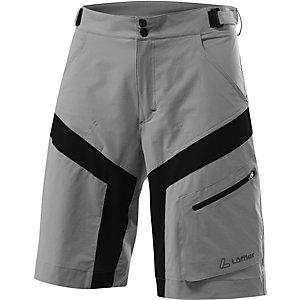 Löffler Cross Bike Shorts Herren grau/schwarz