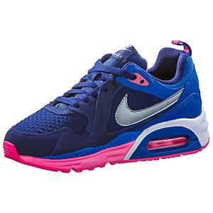 NIKE Air Max Trax Laufschuhe Mädchen in blau/pink, Größe 36