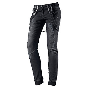VSCT Skinny Fit Jeans Damen black denim