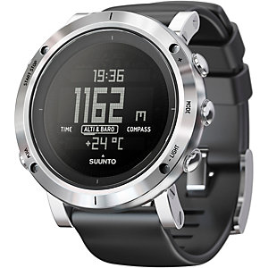 Suunto Core Brushed Steel Sportuhr silberfarben