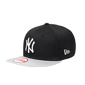New Era NY Yankees Cap schwarz/grau/weiß