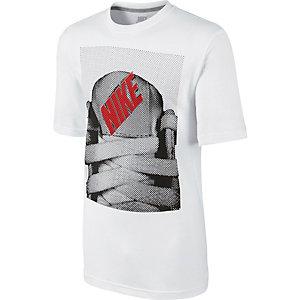 Nike Tongue tied Printshirt Herren weiß
