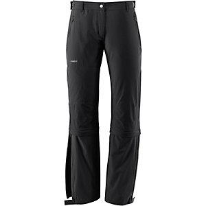 VAUDE Farley Stretch T-Zip Softshellhose Damen schwarz