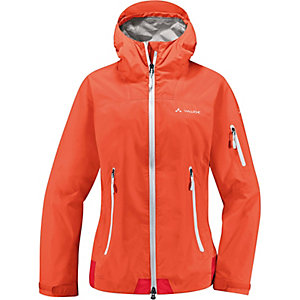 vaude crestone regenjacke damen orange im online shop von sportscheck kaufen. Black Bedroom Furniture Sets. Home Design Ideas