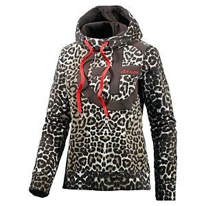 Chiemsee Josie Fleecepullover Damen leopard